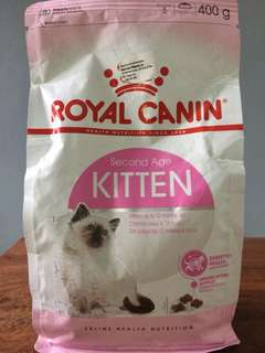 Royal Canin Second Age Kitten Cat Dry Food in Orig Packaging