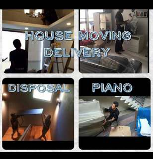 SG HouseMoving/Delivery/Piano/Disposal Services
