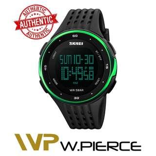 SKMEI 1219 W.Pierce Digital Wristwatches Men Outdoor Sport Watches Chronograph Fashion Clock PU Band Waterproof Relogio Masculino Watch Casio,Zoo York,Timex,Time Depot,Mossimo,G-Shock,Gshock
