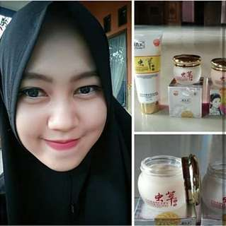 Cream herbal glowing (pagi+malam)