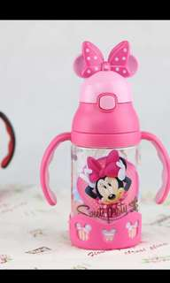 Minnie mouse bottle (straw type)