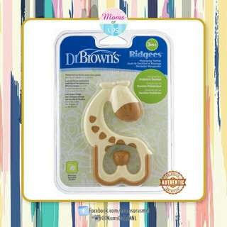 ‼️NEW‼️DR.BROWN's Ridgees Teether 3m+ (Gir