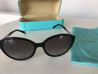 Tiffany black cat eye sunglasses