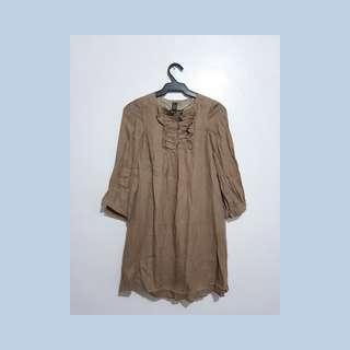 ZARA BROWN DRESS