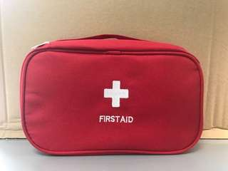 First Aid Canvas Bag
