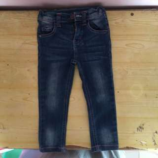 crib couture denim pants for babies