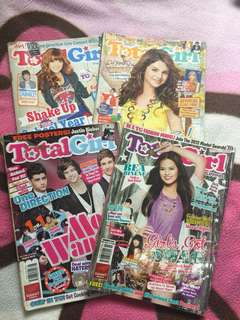Total Girl 2012 issues