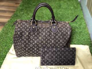 LV Minilin Speedy 30 & Wallet Package