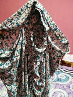 Jilbab langsungan motif