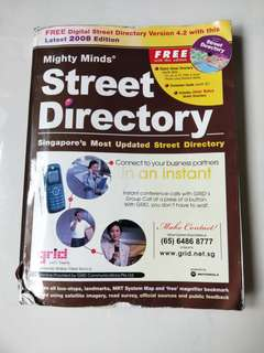 Mighty Minds Singapore Street Directory  2008 Edition  Driving Licence  Blk 407 Hougang Ave10