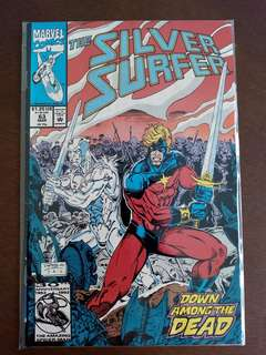 Silver Surfer Marvel Comics Issue 63
