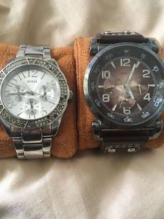 Get this Vintage Guess watch & the Silver Guess