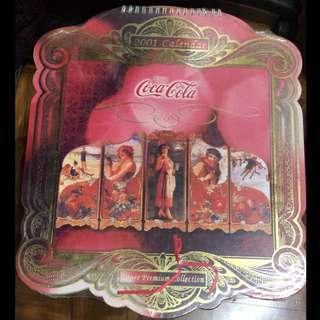 可口可樂月曆