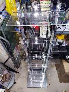 Acrylic Shoe Display Rack