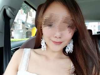 🚚 Handmade lace tassel earrings