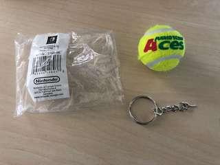 Mario Tennis Aces Keychain