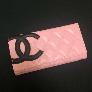 🚚 粉紅色長夾