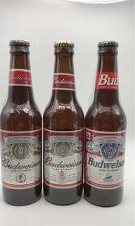百威啤酒紀念樽不可飲用