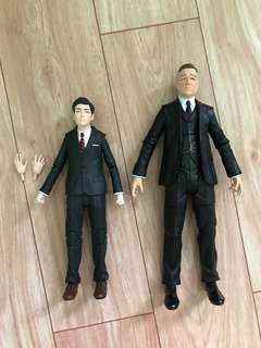 Diamond Select Toys Gotham Bruce Wayne and Alfred Pennyworth