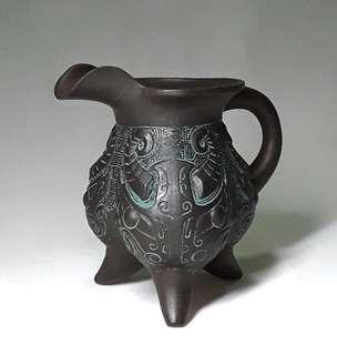 Ancient Bronze Vessels Wine Jar
