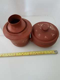 Chinese clay warmers