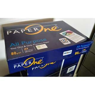 A4 Paper 80gsm PaperOne All Purpose