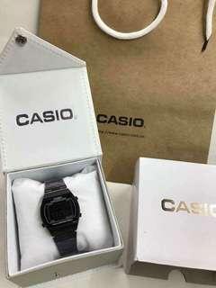 CASIO ALL BLACK WATCH