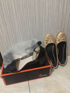 📌Turun Harga Sudah Nett Karena Masih Baru.Take All High Heels Donatello & Flatshoes Balet