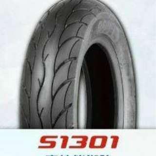 全新-機車用輪胎 10吋/12吋 抓地力好.穩定性高.免怕變形.耐磨6000km / 一般8成高速胎