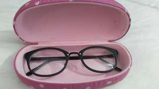 Kacamata + case premium