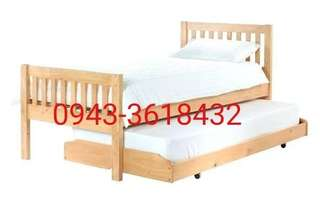 Bedframe with pullout 30/30 x 75