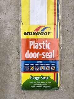 Plastic door seal