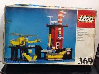 VINTAGE LEGO coast guard set # 369