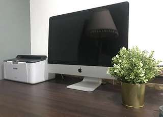 I Mac 21.5 吋 蘋果 桌上型電腦