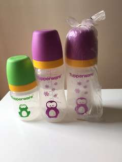 Baby Bottles Tupperware #July100