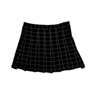 Miss Sumey Plaid Mini Skirt