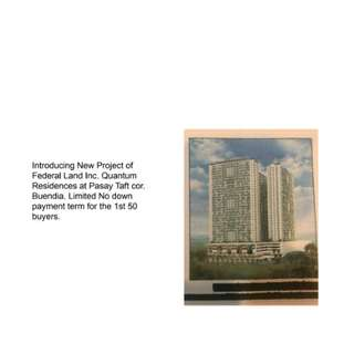 Pre selling Units in Pasay City
