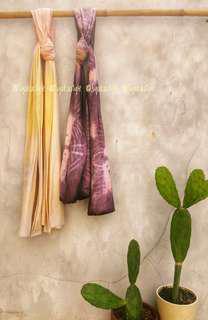 Pasmina kaos motif batik celup Set 6