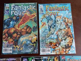 Fantastic Four Marvel Comics Issue 1-5