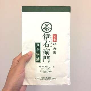 🚚 日本帶回 京都福壽園 伊右衛門煎茶 茶葉