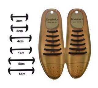 Silicone Leather Shoelace