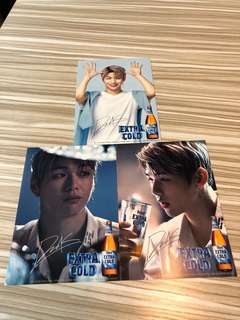 Wanna one Daniel x Extra cold 代言Post Cards