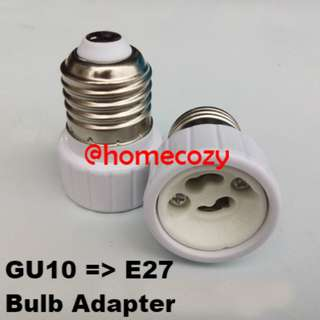 (BN) Light Bulb Adapter GU10 to E27 (Brand New)