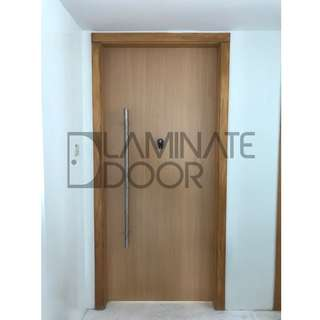 Double Tone Laminate Main Door, give you a different felling from inside and outside