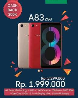 Oppo a83 2Gb