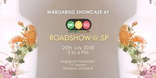 Come to our Roadshow at Singapore Poly!