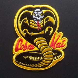 Cobra Kai Logo Iron On Patch