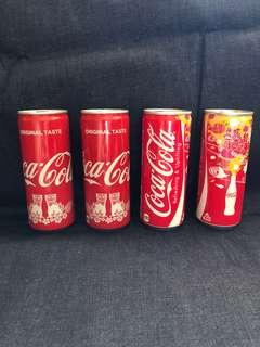 沖繩限定可口可樂 (右面兩罐已售)