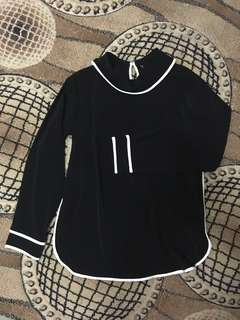 BNWT Zara Roll Neck Top