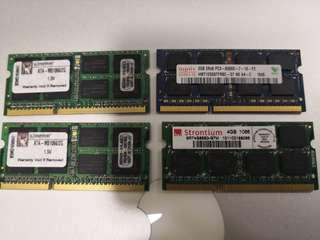 Ram for Sale 2GB 4GB